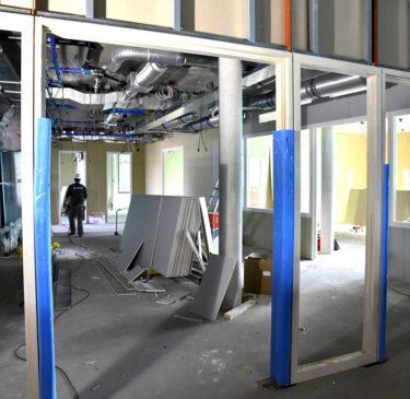 Nieuw gebouw klaar in februari