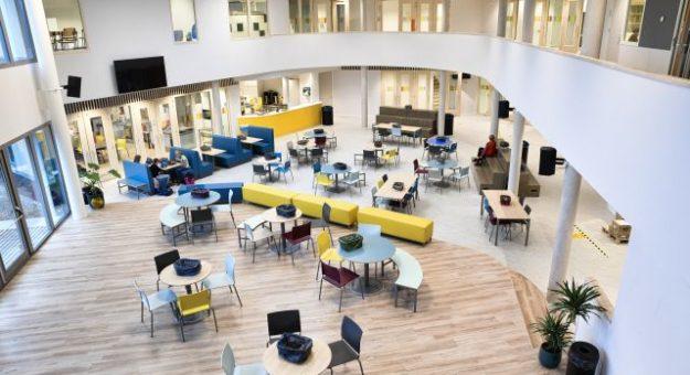 Spiksplinter nieuw schoolgebouw