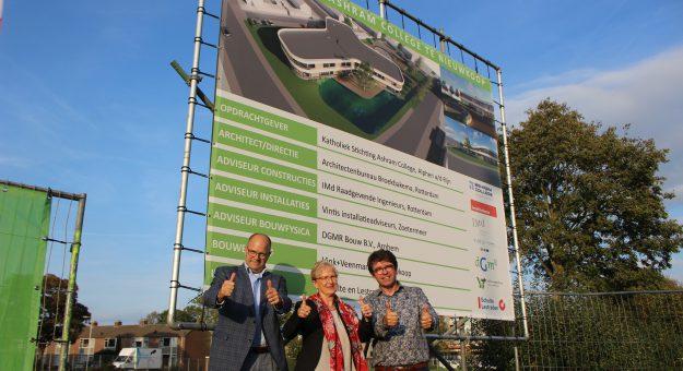 De volgende fase van het nieuwe schoolgebouw gestart!