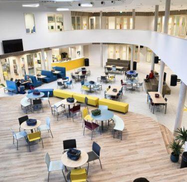 Spikplinter nieuw schoolgebouw