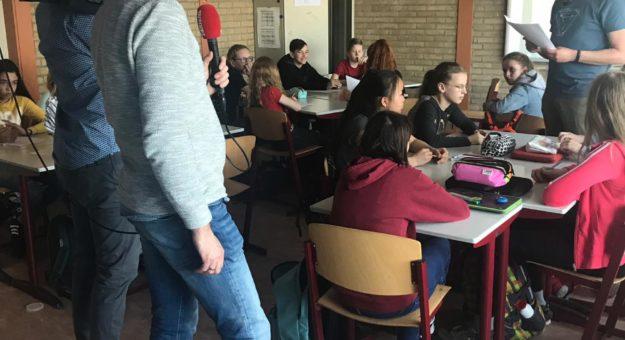 In het nieuws: formatief evalueren op het Ashram College